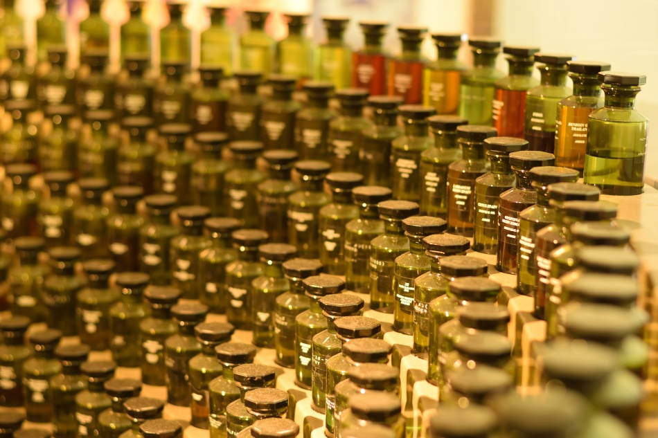 extensive fragrance selection process